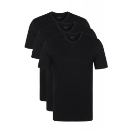 T-Shirt Cuello V Pack 3 Hugo Boss