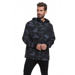 Jacket Camo Double Zip